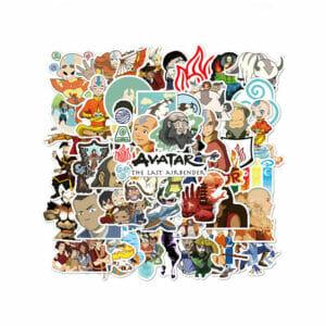 Anime Pattern Children's Stickers