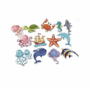 Animal pattern kids stickers