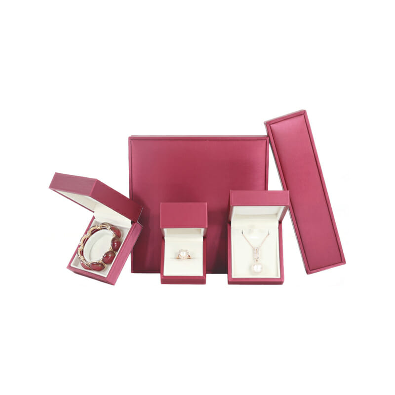 Mixed Color Jewelry Packing Boxes