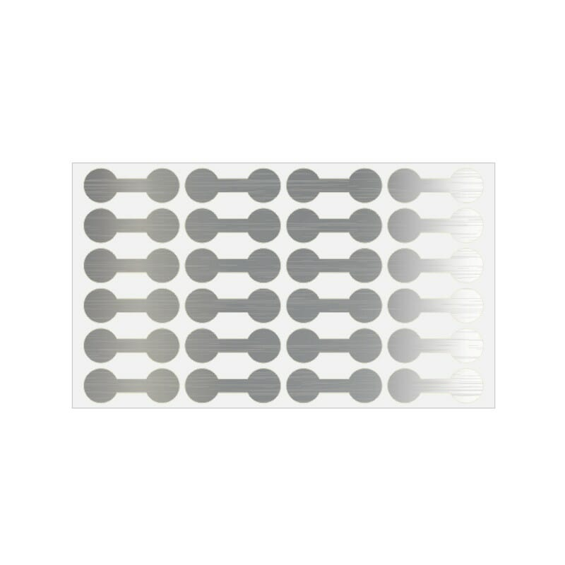 Silver Tyvek Jewelry Price Tags