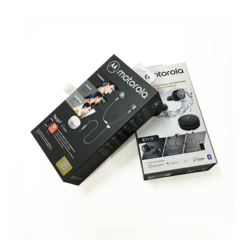 Electronics Packaging Boxes for Earphone