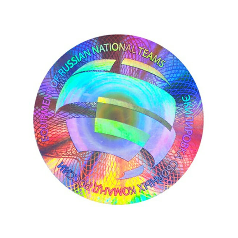logo laser holographic stickers 2