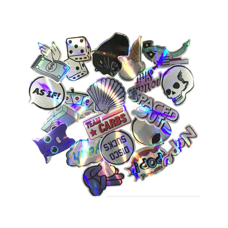 Cut Die Laser Logo Stickers