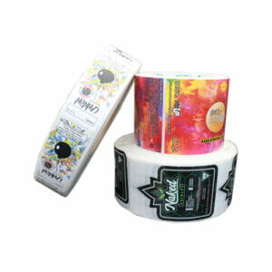 Food Packaging Stickers