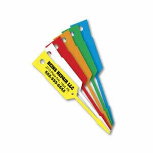 Auto Repair Shop Plastic Service Tags