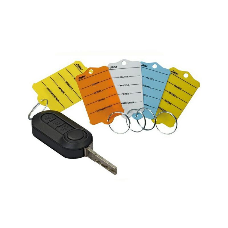 Car Plastic Key Tags