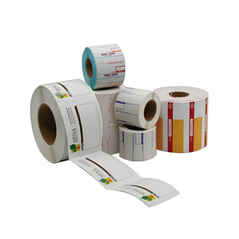 Thermal paper blank price tag
