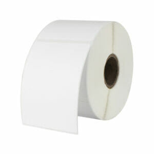 Thermal Paper Blank Stickers