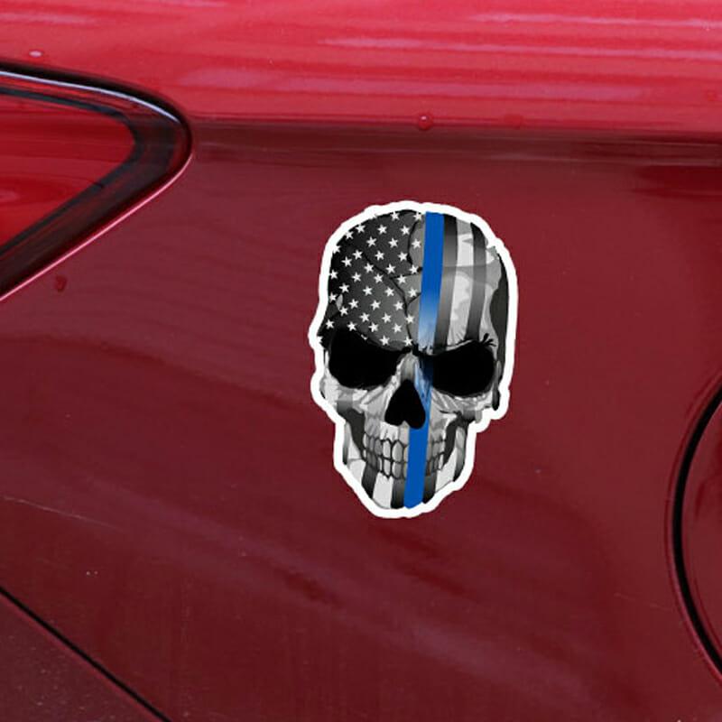 skull car decals