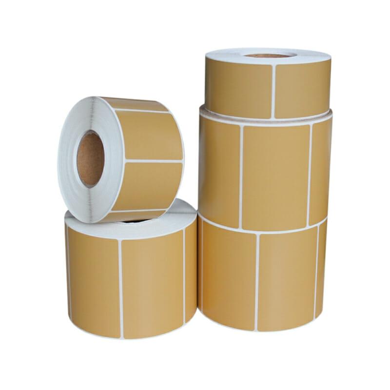 Kraft Paper Die Cut Stickers