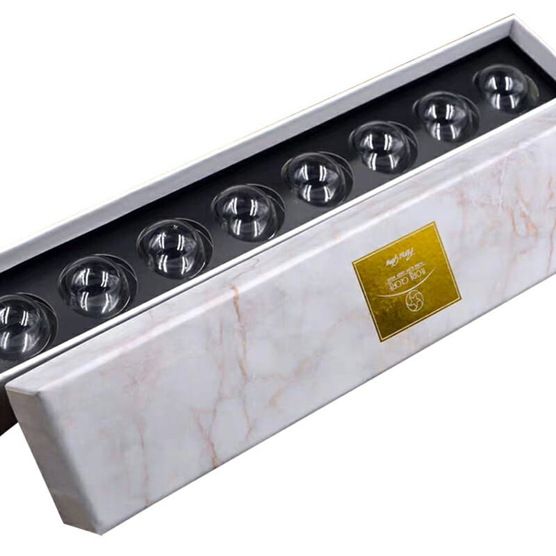 Marble Texture Chocolate Packaging Box