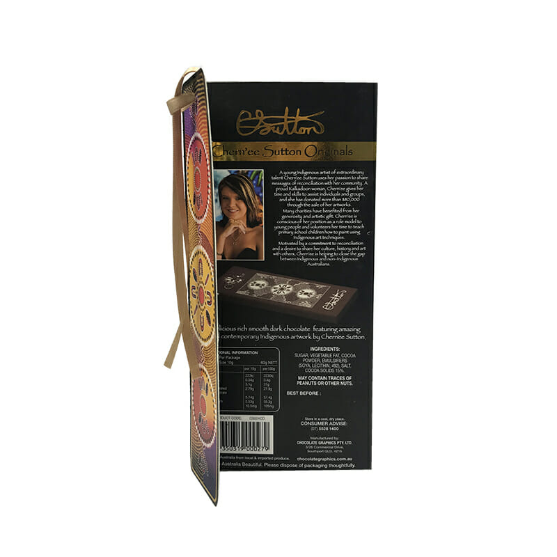 Folding Chocolate Packaging Paper Boxes